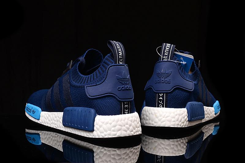 7e33461598132 Adidas NMD PK Runner Deep Blue men women shoe  adidasnmdrunner2 ...