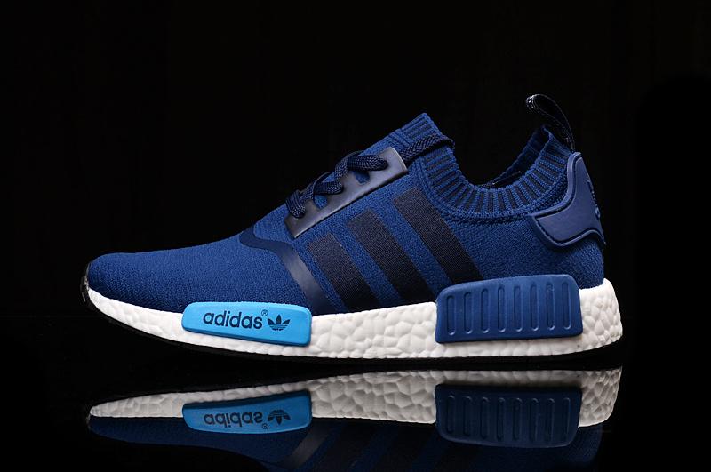 buy popular 7ec49 ece37 Adidas NMD PK Runner Deep Blue men women shoe ...