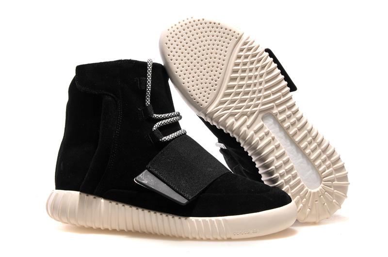 a588248f1f4d8 Mens Adidas Kanye West Yeezy3 750 Boost Black